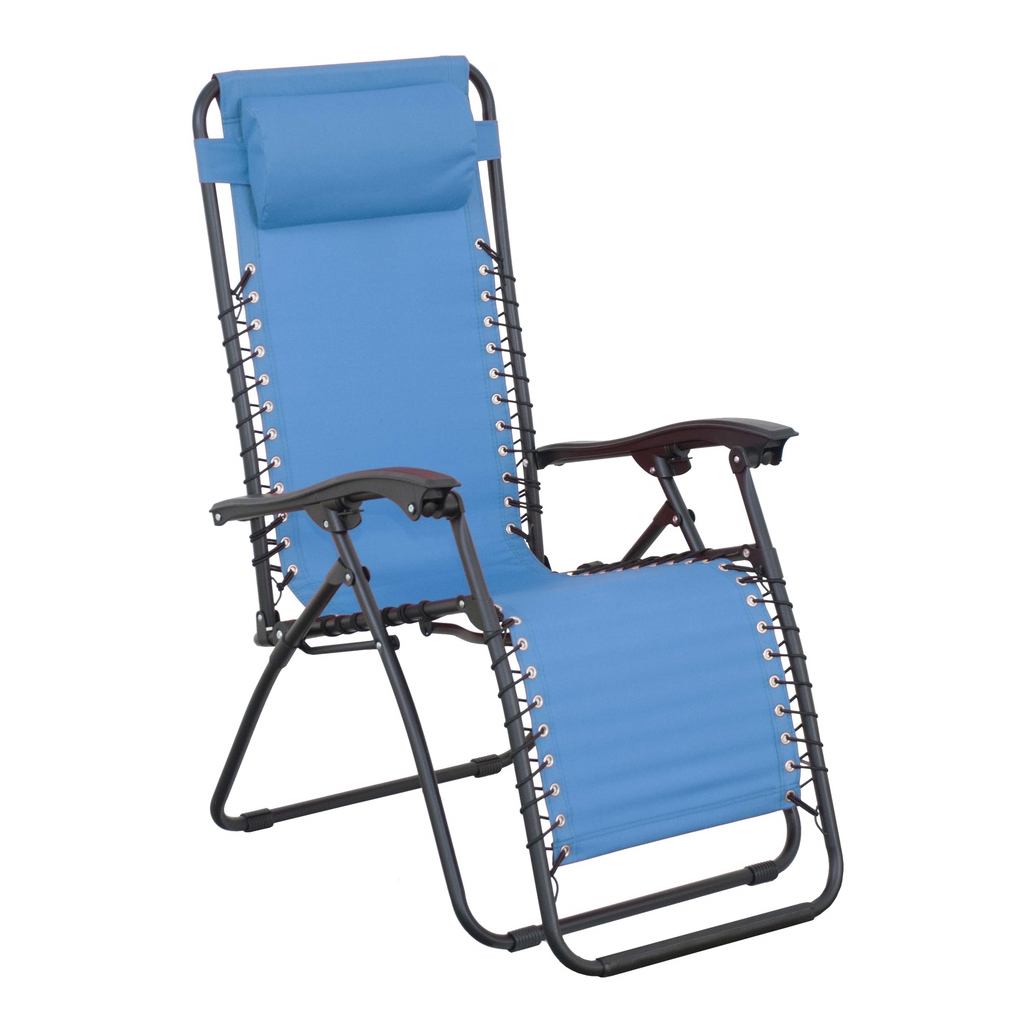 Křeslo Relax DOPPLER modré