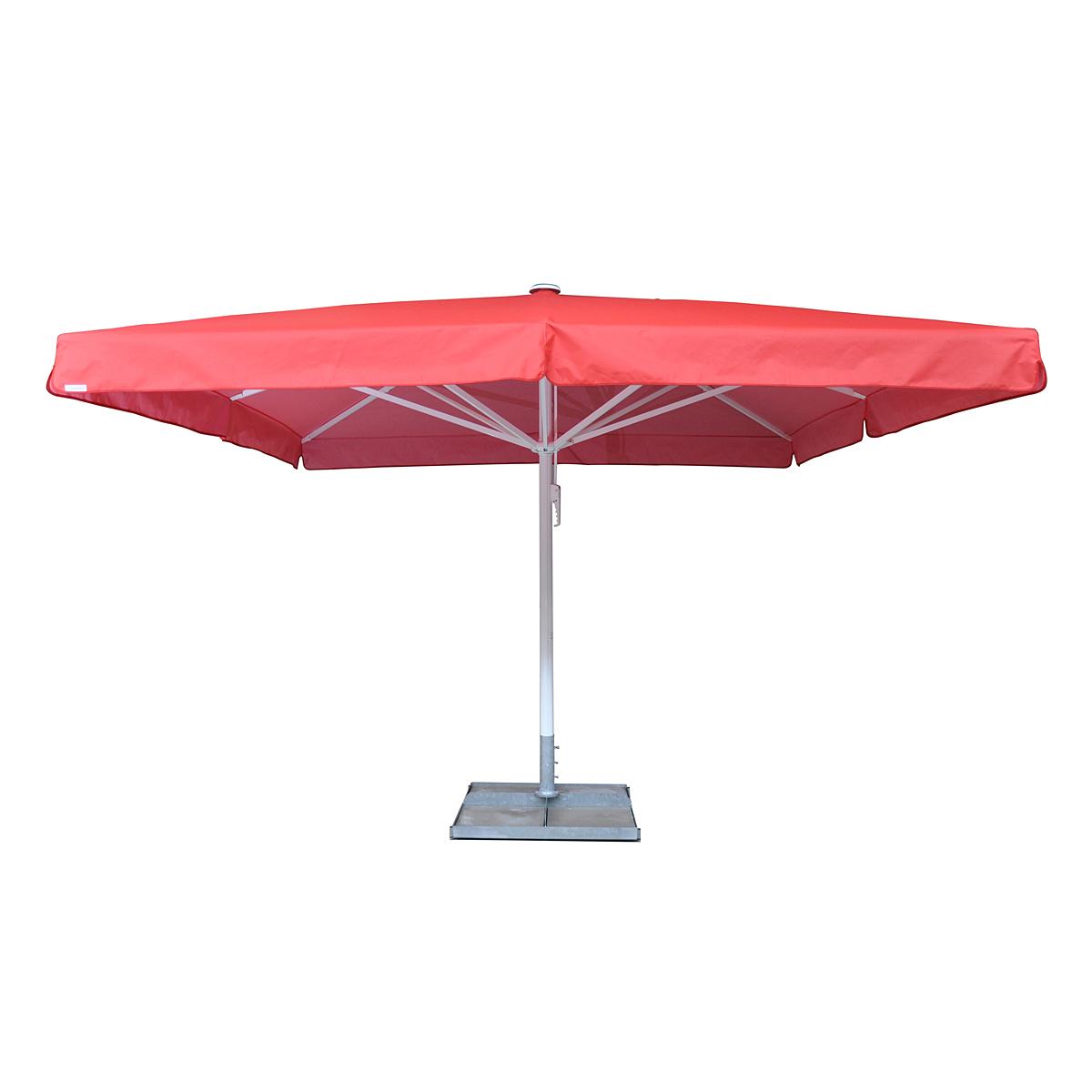 Slunečník ZANGENBERG Manhatan 400 x 400 cm bílá (229) Premium Airtex