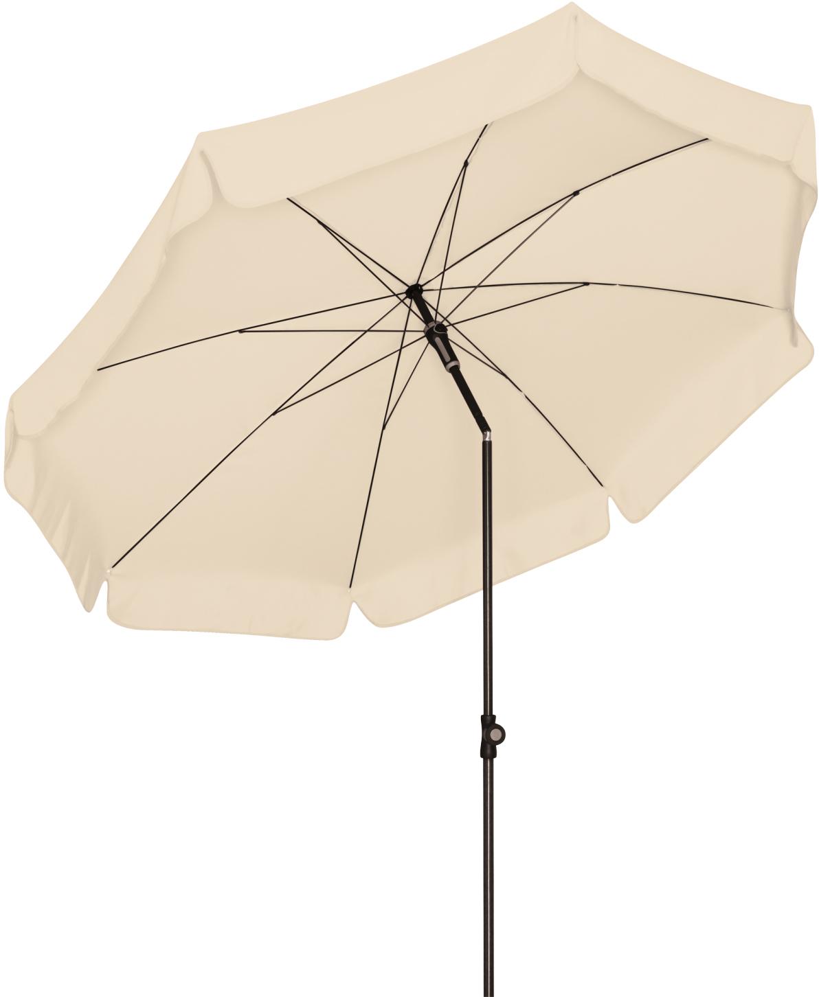 Slunečník DOPPLER Waterproof 200 cm antracit bez volánu